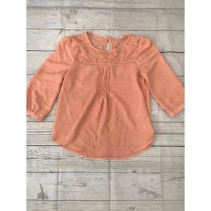 MINE Coral Women's Blouse 3/4 Sleeve S